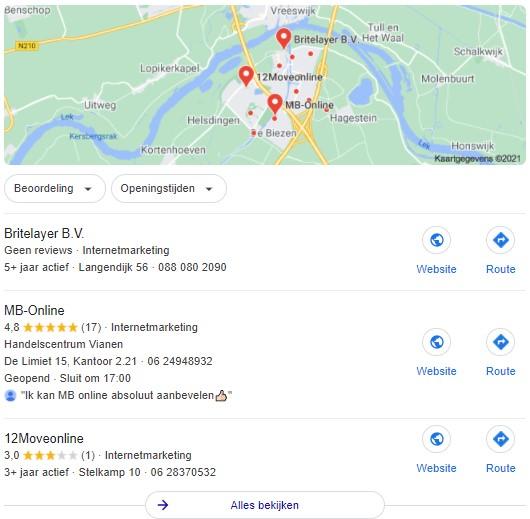 Google Mijn Bedrijf-Maps 1